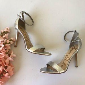 Sam Edelman Amee Metallic Heels